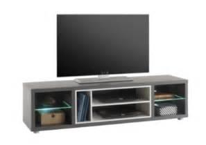 meuble tv design led shades gris meubles tv but