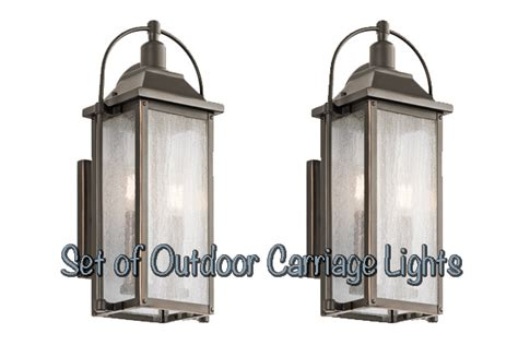 carriage light fixtures kichler carriage light giveaway checking in with chelsea