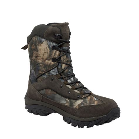 camo boots mens adtec mens green 11in camo insulated suede