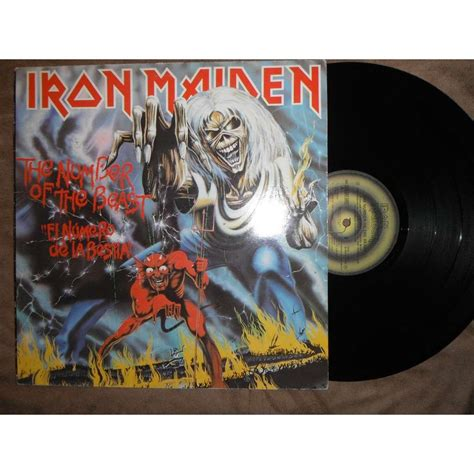 Vinyl Iron Maiden The Number Of The Beast The Number Of The Beast By Iron Maiden Lp With Antonfsh