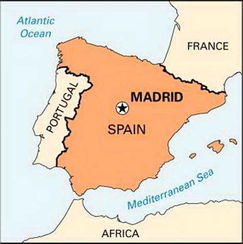 madrid spain on world map antonio in world my trip to madrid spain