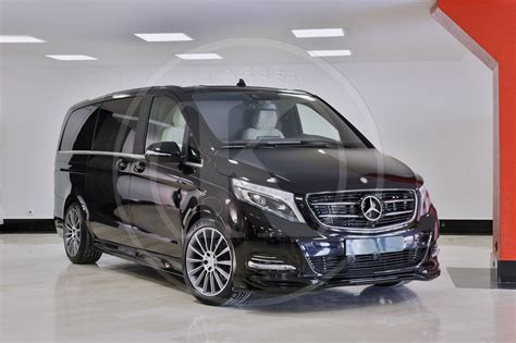 luxury minivan mercedes v class mercedes image 33