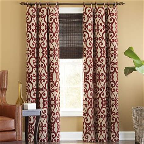 jcpenney living room curtains drapery panels cindy crawford and curtain panels on pinterest