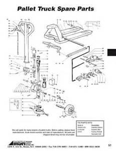 pallet jack parts diagram pallet free engine image for