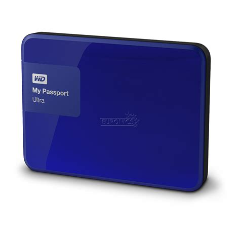 Wd New My Passport Ultra External Hardisk Hardrive 2tb Biru external drive my passport ultra western digital 2 tb wdbbkd0020bbl eesn