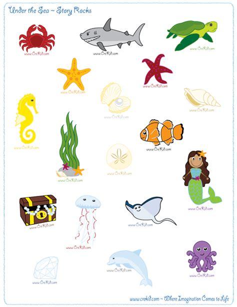 printable underwater images ocean theme underwater adventure drawing writing