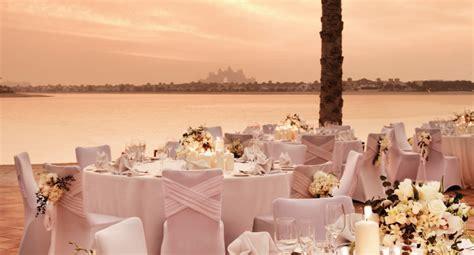 Wedding Venues at Palm Jumeirah in Dubai   Arabia Weddings