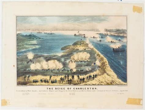 siege  charleston bombardment  fort sumter