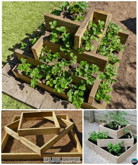How To Make A Raised Bed Planter by Diy Raised Garden Bed Ideas Free Plans