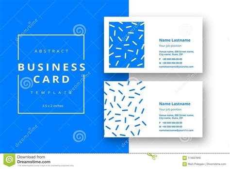 Color Business Card Templates by Abstract Color Business Cards Vector 3 Choice Image Card