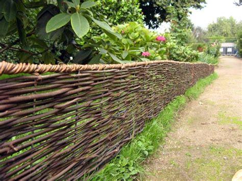 Bordure De Jardin 226 bordure pliable rotin 180cm bordure de jardin
