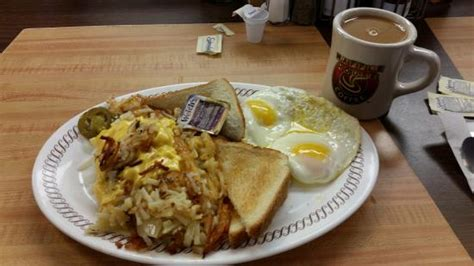 waffle house reviews scattered smothered covered peppered picture of