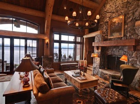 home cabin decor 17 best images about rustic great rooms on pinterest studio interior cabin and the fireplace