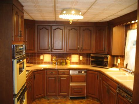 1970s kitchen   Harvest gold appliances and drop ceiling