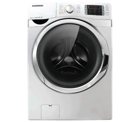 samsung energy 4 3 cu ft front load washer w vrt plus qvc