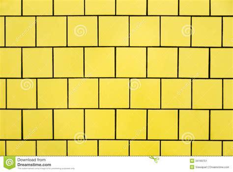 gelbe fliesen gelbe fliesen stockbild bild 34169751