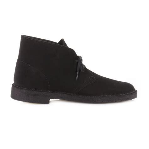 black suede desert boots mens mens clarks originals black suede leather casual shoes