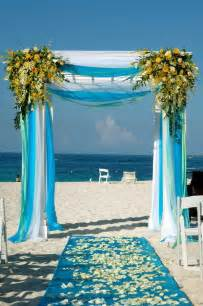 Beach Wedding Arch Wedding Arch Decorating Tips