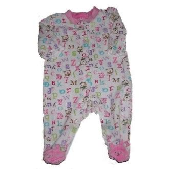Velour Baby Sleepers by Absorba Velour Footed Sleeper