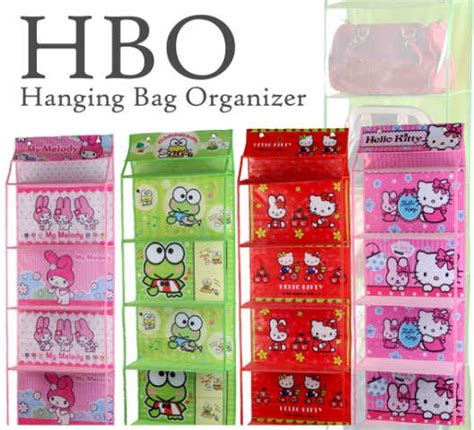 Hcok Rak Baju Gantung Karakter Hanging Cloth Organizer hbo hanging bag o karakter tempat tas