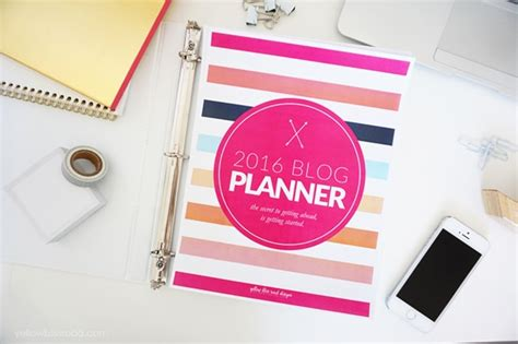 6 printable blog planners for 2016 simply sweet home 6 printable blog planners for 2016 simply sweet home