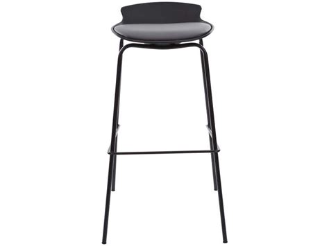 Tabouret Bar Conforama by Tabouret De Bar Sohan Coloris Noir Gris Vente De Chaise