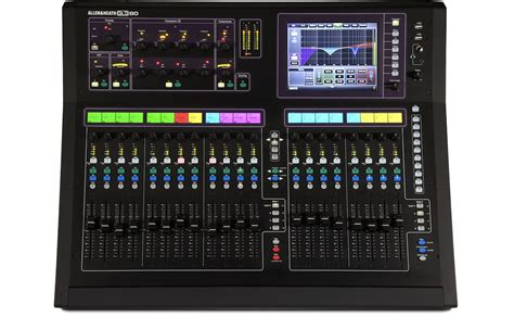 Mixer Allen Heath Gld 80 Brazil 2014 The Stadium Maracana Manages Your System S Audio With The Console Digital Gld 80 Of