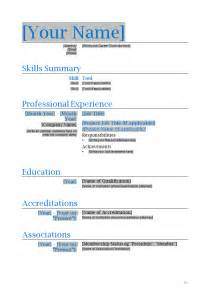 Resume Template Microsoft Word by Engineer Resume Template How To Write Stuff Org