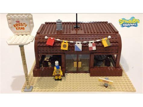 Lego Custom Krusty Krab Review   YouTube