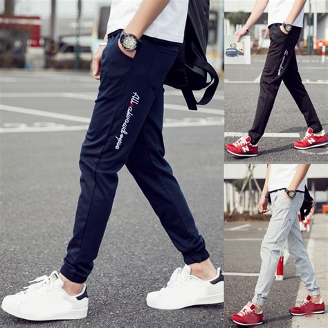 casual comfort clothing brand 2016 summer mens brand fashion walk casual pants joggers