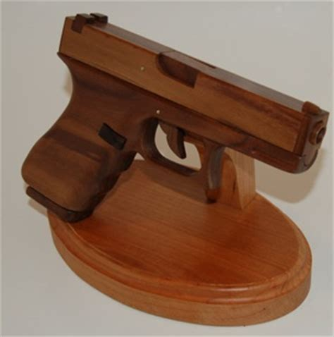 working wooden glock   firearm blog