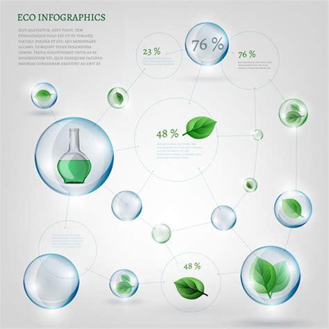 eco design elements vector eco infographics elements vectors graphics 19 vector