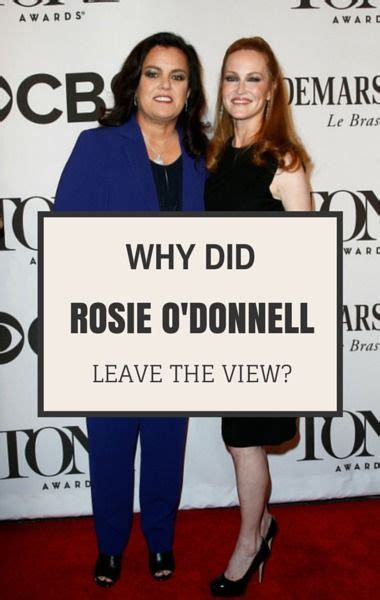 Rosie Odonnell Leaving The View by Dr Oz Rosie O Donnell Leaving The View Weight Loss