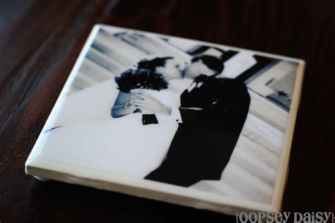 How To Make Coasters Out Of Tiles And Scrapbook Paper - envy events tacoma seattle event design diy project