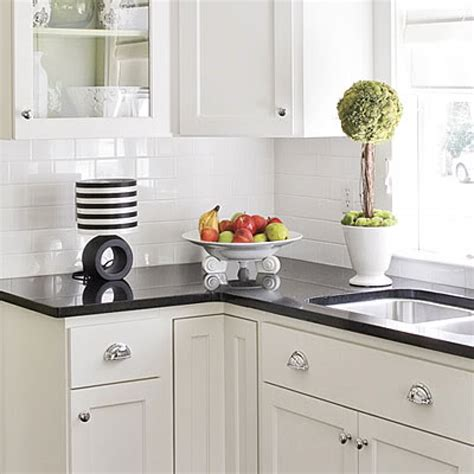 Backsplash For Black And White Kitchen Decorations Kitchen Subway Tile Backsplash Ideas With