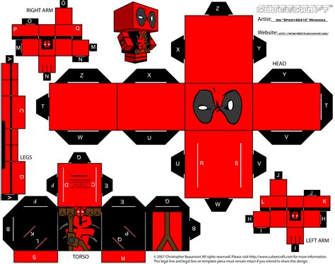 Cubeecraft Papercraft - all marvel cubecraft daredevil cubecraft spider