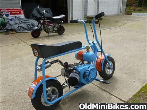 electric doodlebug mini bike gulf livery azusa