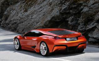 bmw m1 homage concept car widescreen car picture