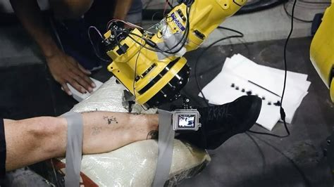 3d printer tattoo youtube makerbot 3d a industrial robot arm with needles and ink
