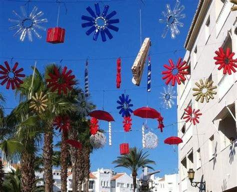 imagenes para decorar las calles en navidad almerimar vuelve a apostar por los materiales reciclados