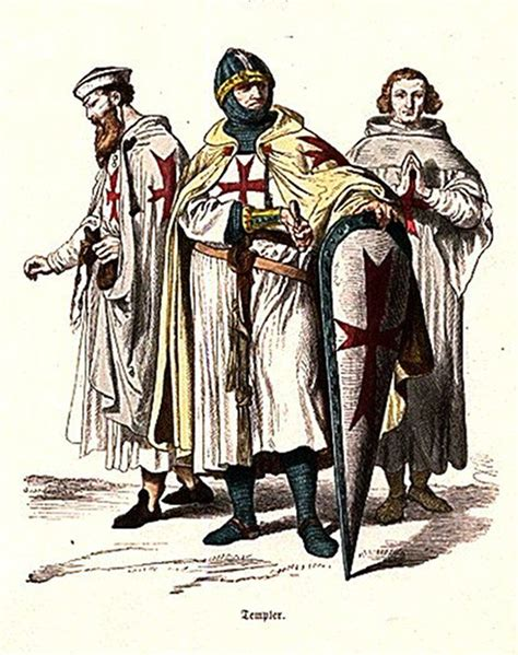 a knight of the the knights templar known as the warrior monks
