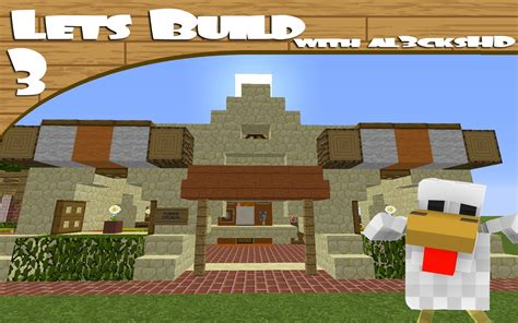 design ideas in minecraft lets build minecraft chicken shop design ideas youtube