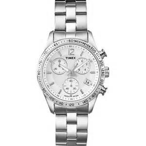 silver tone chronograph t2p059 timex from