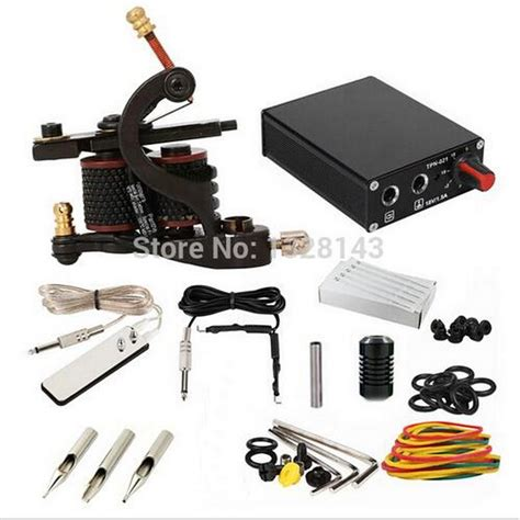 tattoo machine losing power freeshipping complete tattoo kit set tattoo machine guns