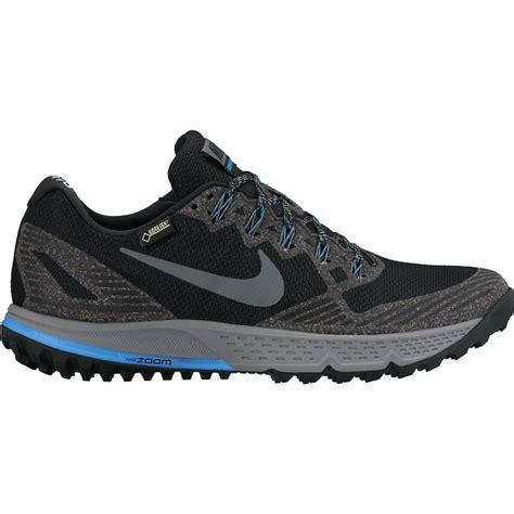 nike gtx running shoes nike air zoom wildhorse 3 gtx trail running shoe s