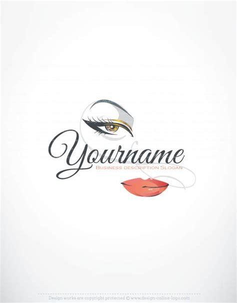 design a makeup logo exclusive logos store makeup logo design