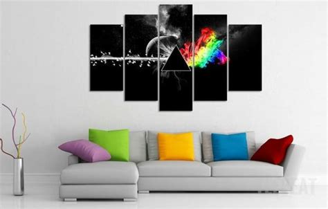 pink floyd comforter set pink floyd the dark side of the moon 5 piece canvas