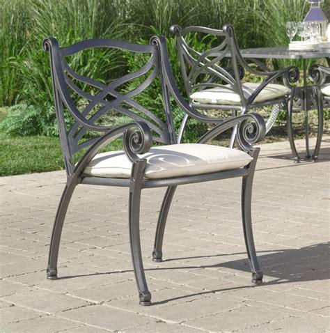 hauser hton cast aluminum dining outdoor patio