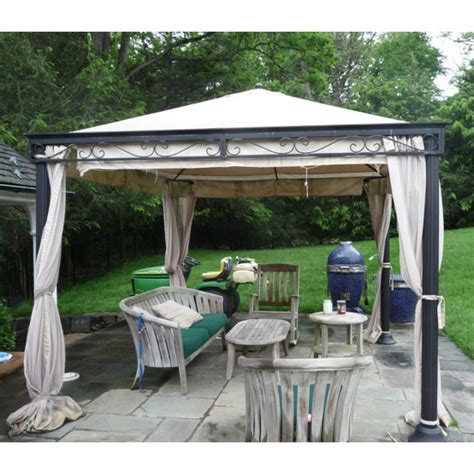 gazebo costo costco emperor 10 x 10 gazebo replacement canopy garden