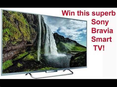 Smart Giveaways Unsubscribe - red ferret summer giveaway 3 win a sony bravia w65 smart tv giveaway ended youtube